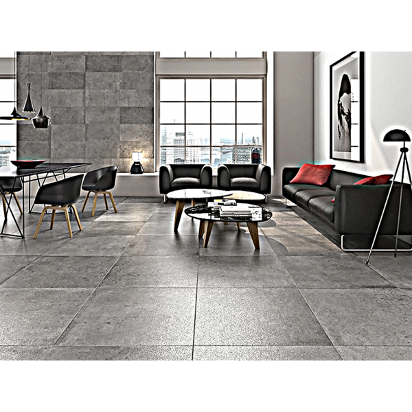 ALTAIR GREY RECTIFIED LAPPATO TILES 75 CM X 75 CM