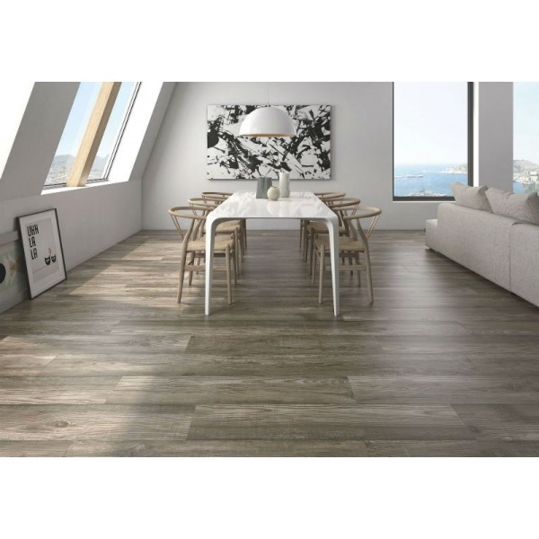 American bos ebony wood effect porcelain tile