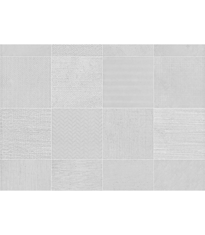 PATTERNS WHITE RECTIFIED MARBLE PORCELAIN TILES 60 CM X 60 CM